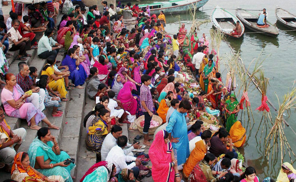 Chhath is an important Hindu-Vedic festival celebrated in regions of Nepal and in many Indian states. It falls on the fourth day after Diwali and are celebrated over four days. PTI