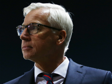 File photo of Crystal Palace manager Alan Pardew. AP