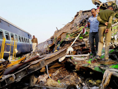 Over 140 people were killed in the Patna-Indore Express tragedy. PTI