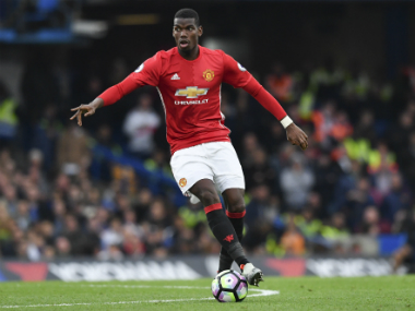 File image of Manchester United's Paul Pogba. AFP