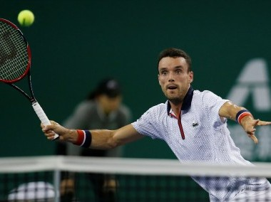 File photo of Roberto Bautista Agut. Reuters