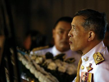 File photo of Thailand's Crown Prince Maha Vajiralongkorn. Reuters
