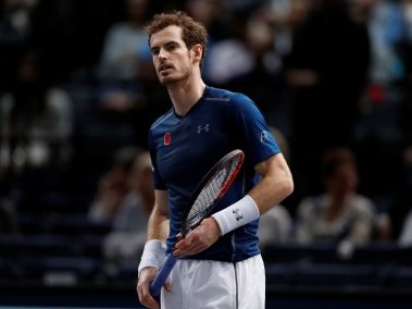 Andy Murray of Britain. Reuters