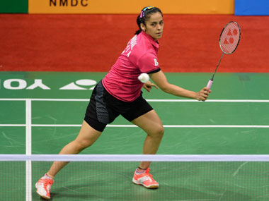 File photo of India's Saina Nehwal. AFP
