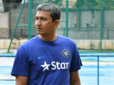 File photo of Sanjay Bangar. AFP