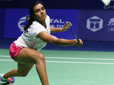 File photo of PV Sindhu. Twitter/@airnewsalerts