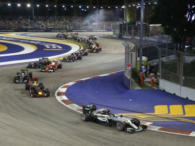 File photo from this year's Singapore GP. Reuters