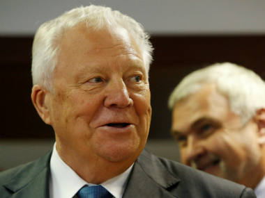 File photo of Russia's new anti-doping chief Vitaly Smirnov. Reuters