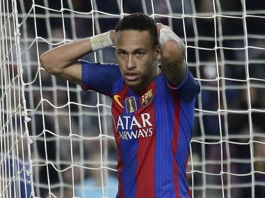 File photo of FC Barcelona's Neymar. AP