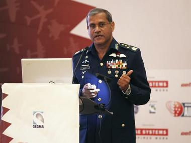 Pakistan's Air Force Chief Marshal Sohail Aman. Reuters