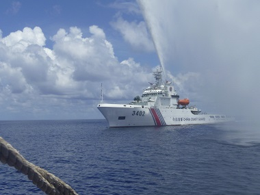 South China Sea. AP