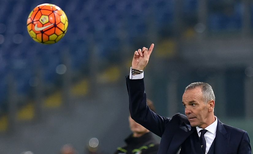 File image of manager Stefano Pioli. AFP