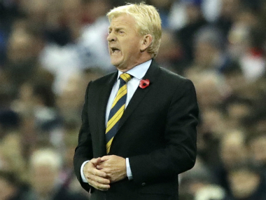 File image of Gordon Strachan. AP