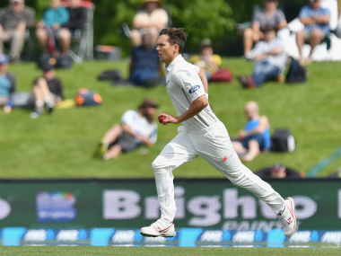 Trent Boult had been suffering from slight discomfort in his right knee since the Indian tour. Getty Images