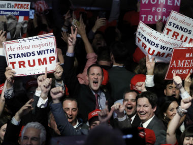 There were many groups of people apart from the white men who supported Donald Trump. Reuters