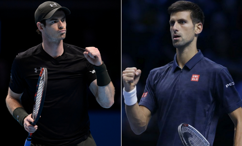 The year-ending World No 1 ATP ranking will be decided this weekend between Andy Murray and Novak Djokoivc. Reuters