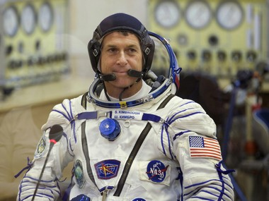 U.S. astronaut Shane Kimbrough. AP