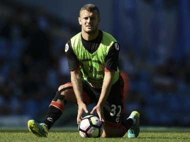 File image of Jack Wilshere. AFP