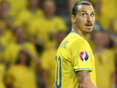File photo Zlatan Ibrahimovic. AFP