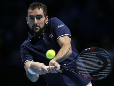 File photo of Marin Cilic. AP