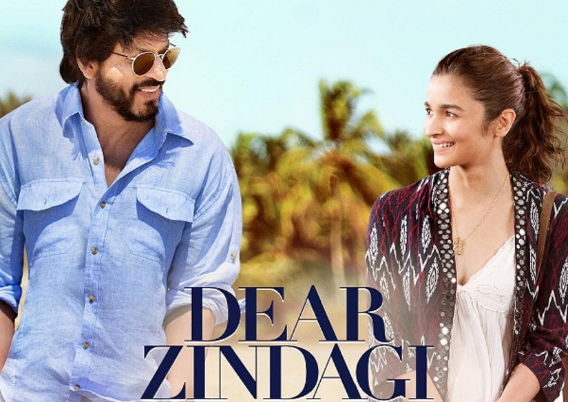 Poster of Shah Rukh Khan and Alia Bhatt's 'Dear Zindagi'