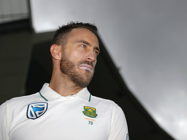 File image of South Africa captain Faf du Plessis. Getty images
