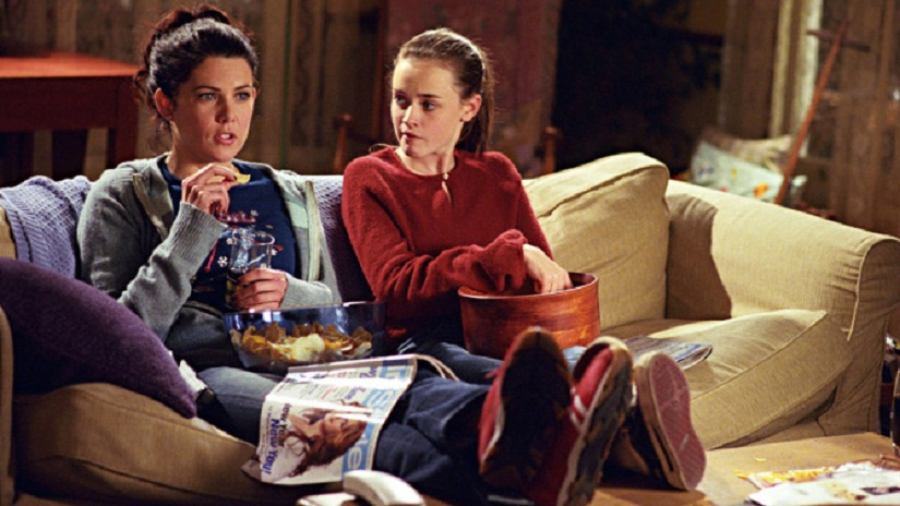 Lorelai and Rory in 'Gilmore Girls'