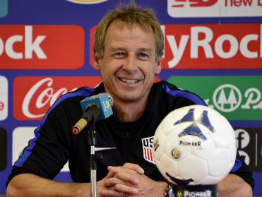 File photo of USA coach Jurgen Klinsmann. AFP