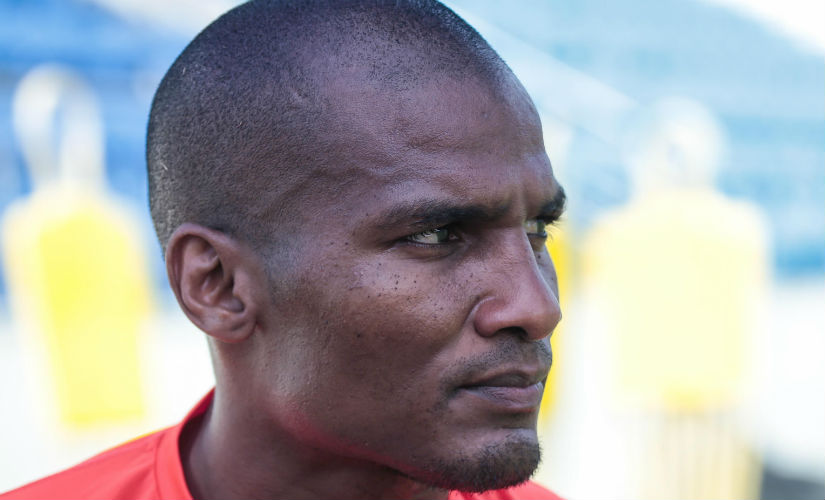 Florent Malouda handled questions with the same panache that he shows on the field. Delhi Dynamos