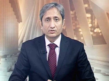 Senior editor of NDTV India Ravish Kumar.