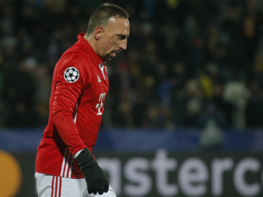 File photo of Franck Ribery. Reuters.