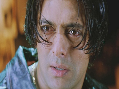 Salman Khan in a still from 'Tere Naam.'