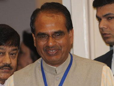 Madhya Pradesh chief minister Shivraj Singh Chouhan has played a big role in delivering this win. AFP