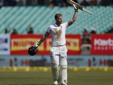 Stokes produced an outstanding 128 – his first hundred against India and his fourth in Tests. AP