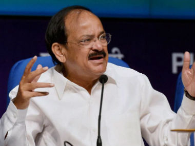 A file photo of Venkaiah Naidu. PTI