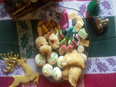 Traditional sweets prepared by Ramona Fernandes. Photo courtesy Sanaya Fernandes