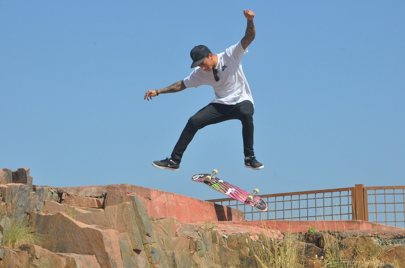 Nyjah Huston. All images courtesy Shail Desai
