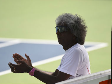 File photo of Anand Amritraj. Getty Images