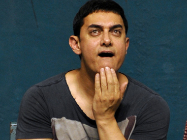 Actor Aamir Khan. AFP