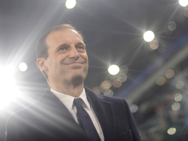 Juventus coach Massimiliano Allegri. Reuters