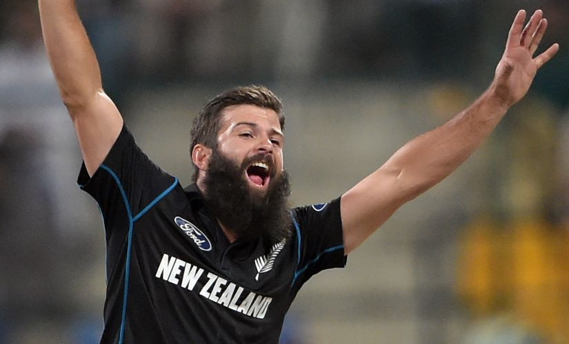 New Zealand left-arm orthodox spinner Anton Devcich. AFP