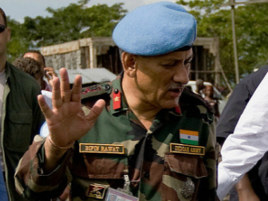 Bipin Rawat. File photo. Getty Images