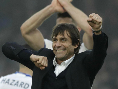 File photo of Chelsea boss Antonio Conte. AP