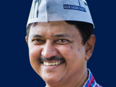 Goa AAP CM candidate Elvin Gomes. Twitter/@ielvisgomes