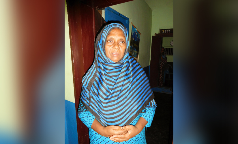 Faisal's mother Minimol, who also embraced Islam and took the name Jameela
