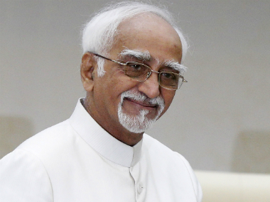 File image of Hamid Ansari. Reuters