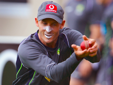 File photo of Michael Hussey. AFP