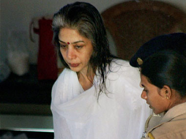 File image of Indrani Mukerjea. PTI