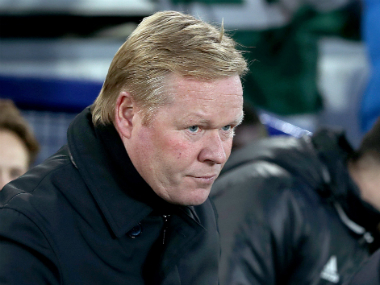 File image of Everton manager. AP