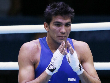 File photo of boxer Manoj Kumar. Getty images